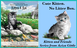 Kitten & Koi Goodreads Giveaway!