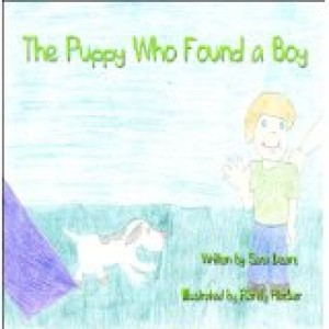 Puppy finds boy cover