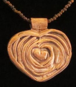 Deserving Love (in copper) by Kim Klinkrodt