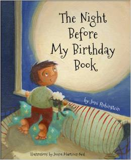 4-The Night Before My Birthday Book