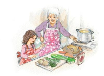 GG and Mamela was illustrated by Avi Katz