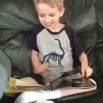 10-year-old Liam John Alex