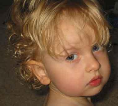 Liam John Alex as a toddler.