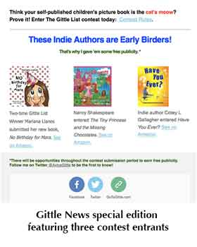 Indie authors advertisement