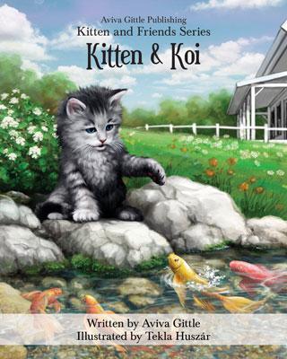 Kitten & Koi by Aviva Gittle Cover