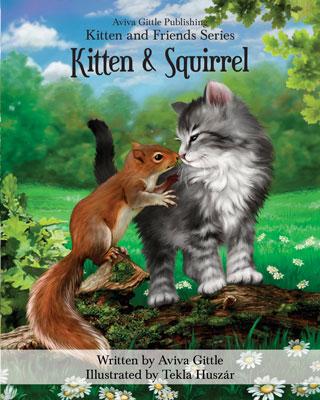 Kitten & Squirrel by Aviva Gittle Cover